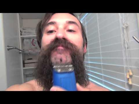 Shaving my 4 MONTHS LONG Beard - Michael Jackson Man in the Mirror