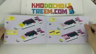 Hướng dẫn lắp ráp Bela 10405 Lego Friends 41107 Pop Star Limousine giá sốc rẻ nhất