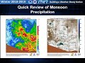 Winter Outlook 2018-2019 for Southeast Arizona