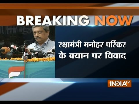 Manohar Parrikar Remark Over Indian Army Stirs Another Controversy