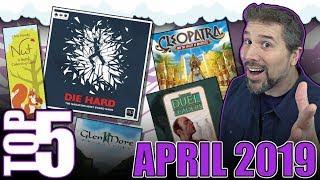 Top 5 Eye-Catching Board Games: April 2019