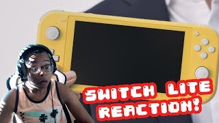 Nintendo Switch Lite FIRST LOOK REACTION!