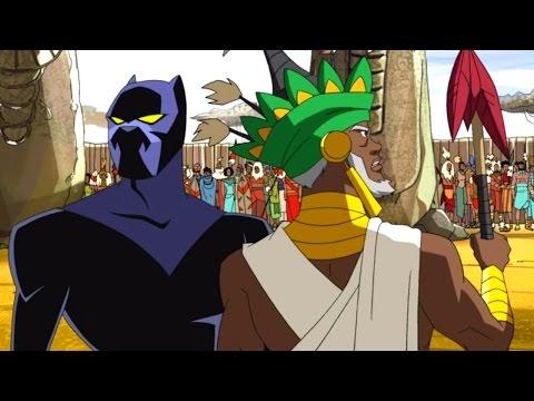 Мстители: Величайшие герои Земли - Путь Пантеры - Сезон 1, Серия 11   Marvel