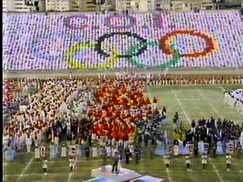 Ceremonia de Apertura IX Juegos Panamericanos Caracas - Venezuela 1983 ( 1ra Parte )