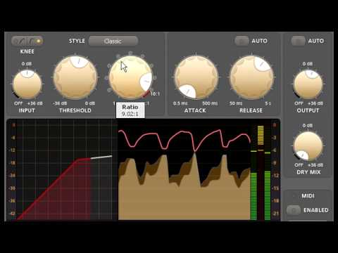 Introduction to FabFilter Pro-C compressor
