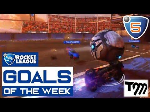 Rocket League - GOALS OF THE WEEK 2018 #5