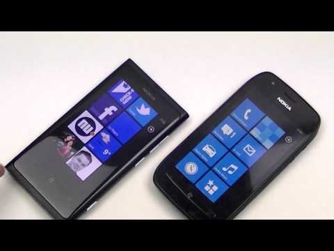 Nokia Lumia 800 vs Nokia Lumia 710 (EN)