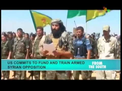 US backed Syrian rebels sign truce with Islamic State