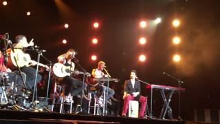 BACKSTREET BOYS PIT AREA   FULL ACOUSTIC SET CONCERT MEXICO JUNE 24 2015 !! HD HQ