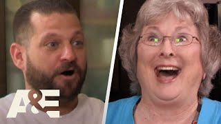 Storage Wars: Battle Edition: Granny Pottymouth Meets Brandi & Jarrod (Season 10) | A&E