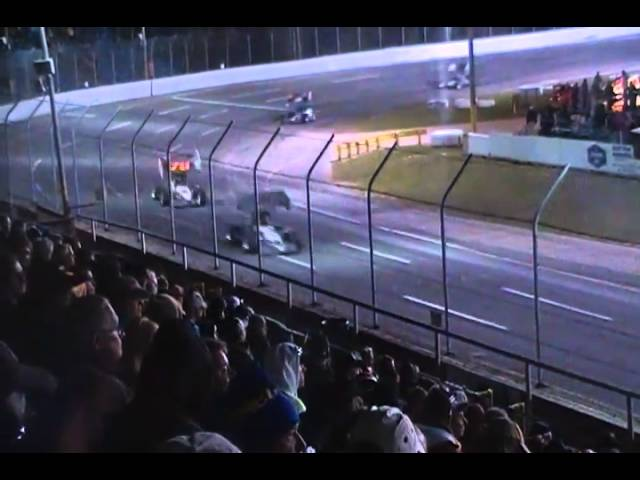 ISMA Dion Parish Memorial Supermodifieds @Berlin Raceway 9.25.10 Feature pt5