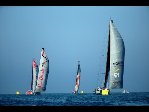 Abu Dhabi In-Port Race Highlights | Volvo Ocean Race 2014-15