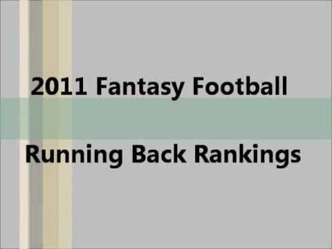 Fantasy football 2013 draft cheat sheet: Running backs