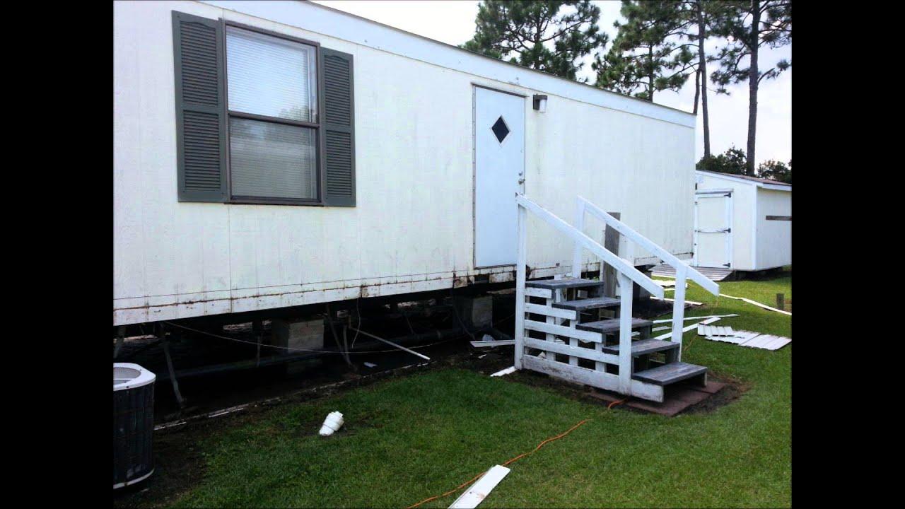 Harrellson job mobile home makeover youtube - Exterior mobile home makeover ...