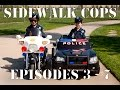 Sidewalk Cops Compilation Video - Episodes 3 - 7 (The Litterer - Superman Texting)