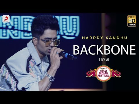 Backbone - Live @ Amazon Great Indian Festival | Harrdy Sandhu