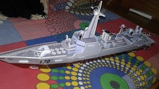Amazing paper model - How to Make a Paper Boat /Ship/helicopter/messile