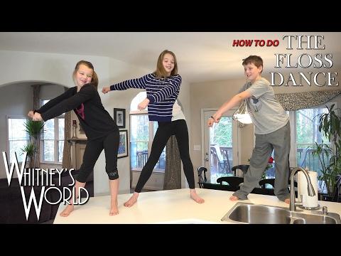 How To Do The Swish Swish Dance | Whitney Bjerken