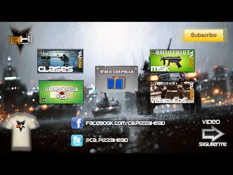 BF4: Patrullas (5 Personas, Field Upgrades y más) Battlefield 4 (PizzaHead) BF3 Gameplay