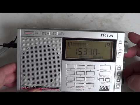 19 meters shortwave band on Tecsun PL-600