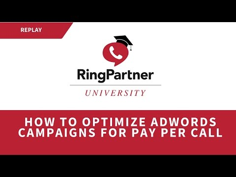 How to Optimize Adwords Campaigns for Pay Per Call