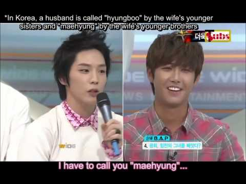 B.A.P's Himcham ideal girl ...And Kwanghee!?
