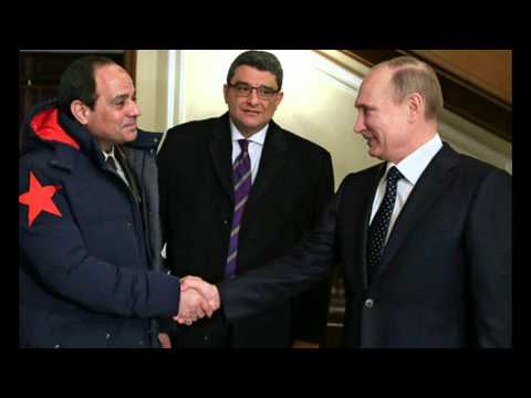 Russia Signs Nuclear Power Deal with Egypt