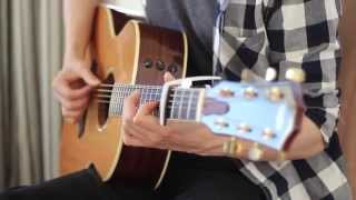 (Mark Ronson ft. Bruno Mars) Uptown Funk - Fingerstyle Aoustic Guitar Cover