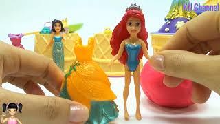 Thơ Nguyễn - Bé Na làm đồ đuôi cá kim tuyến tuyệt đẹp và tìm đồ chơi bất ngờ