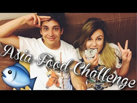 EKLIGE ASIA FOOD CHALLENGE ! mit DagiBee   LIONTTV