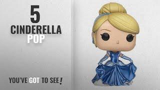 Top 10 Cinderella Pop [2018]: Funko POP Disney: Cinderella Shimmering Dress Toy Figure Amazon