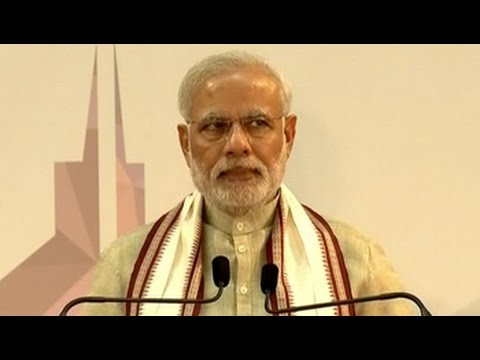 Thousands of Indians in Dubai roar approval through PM's speech