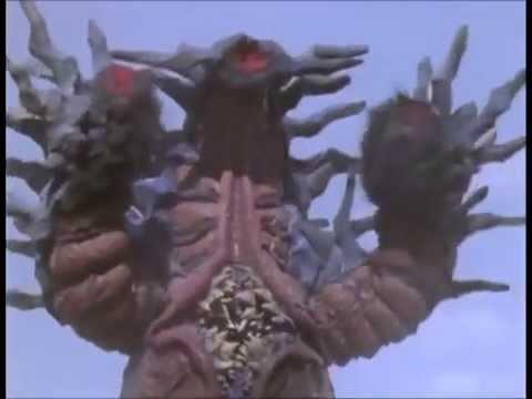 Ultraman Tiga Vs Bizaamo video