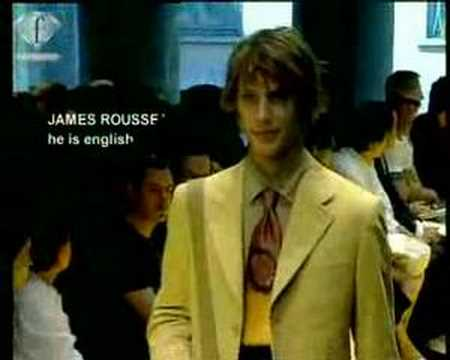 Fashion TV FTV - MODELS JAMES ROUSSEAU HOM PE 2003