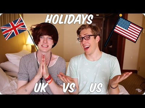Holidays! British VS American | Evan Edinger & Bry