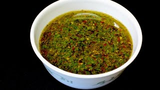 How to make Chimichurri Sauce