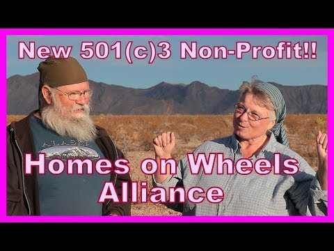501(c)3--Homes on Wheels Alliance Non Profit