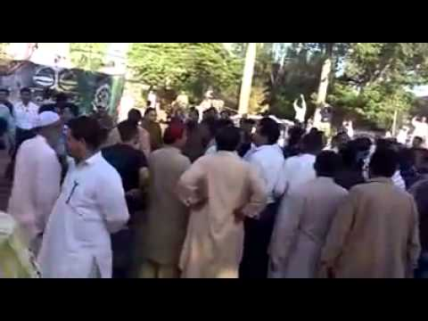 Imran Khan Sialkot Fighting