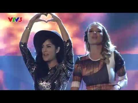 Vietnam's Got Talent 2014 - ĐÊM TRÌNH DIỄN & CÔNG BỐ KQ BK 3 - Mở màn DJ KIM KAT