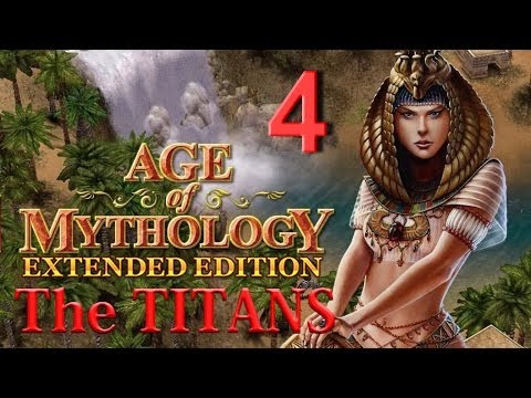 M 4 - Odin's Tower. Age of Mythology: Extended Edition. The Titans Campaign. Difficulty - Titan.