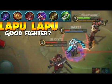 Mobile Legends Lapu Lapu FIGHTER BUILD! (New Hero Gameplay)