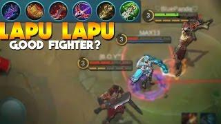 Mobile Legends Lapu Lapu FIGHTER BUILD! (New Hero Gameplay)