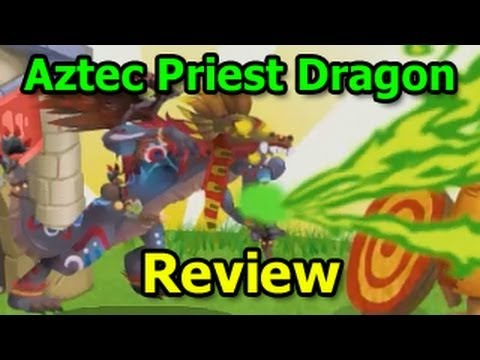 AZTEC PRIEST DRAGON in Dragon City Aztec Island Review
