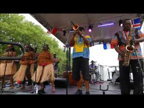 OGYA World Music Band - live 3 @ Dogwood Festival, Piedmont Pk, Atlanta - Sun Apr/12/2015