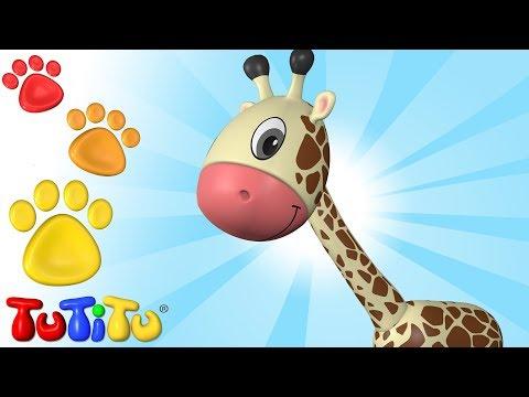 TuTiTu Deutsch | Tiere auf Deutsch | Giraffe und andere Tiere