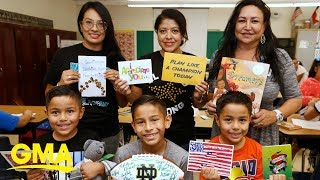 Thousands of notes sent to cheer El Paso students  | GMA Digital