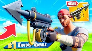 *NEW* HARPOON Gun in Fortnite! (CRAZY)