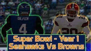 ESPN NFL 2K5 - Cleveland Browns Vs Seattle Seahawks - SuperBowl