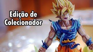 DRAGON BALL FIGHTERZ - UNBOXING DA EDIÇÃO DE COLECIONADOR!