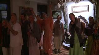 2014.10.15. Deities Greeting, Guru Puja HG Sankarshan Das Adhikari, Kaunas, Lithuania